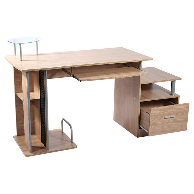 Computer Desk Bamboo Laptop Notebook Lap PC Desk Table Laptop Table Sofa  Office Laptop Stand Desk Bed Bedroom Computer Table