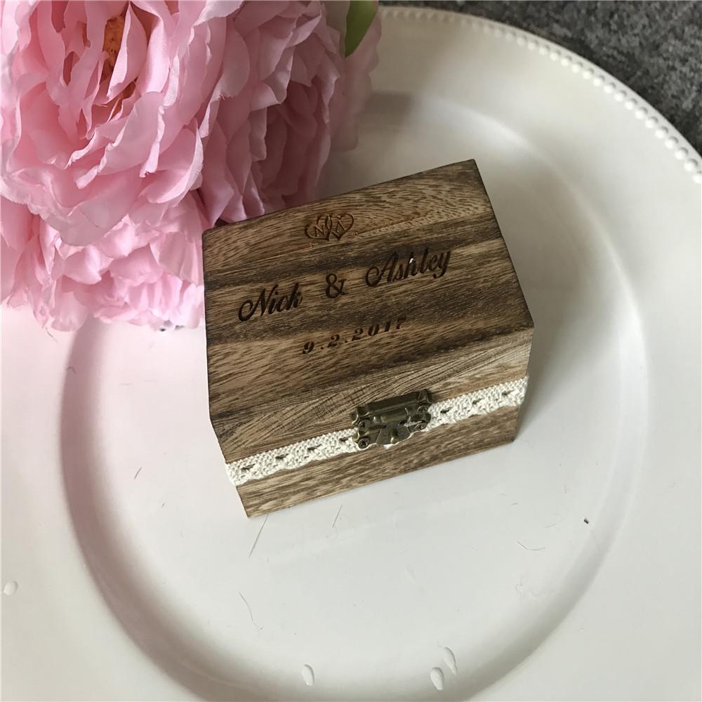 Custom Wedding Engagement Ring Box Wedding Gift Box Collection Box