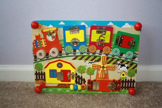 montessori busy board